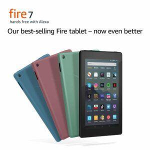 "All-new Fire 7 Tablet | 7"" display, 16 GB, Twilight Blue"