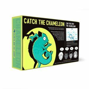 Catch The Chameleon Board Game.