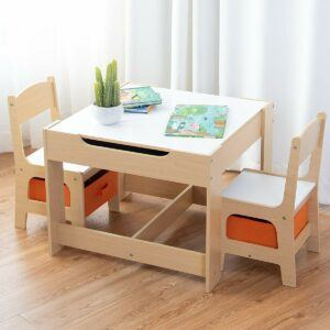 COSTWAY Kids Table Chair Set,
